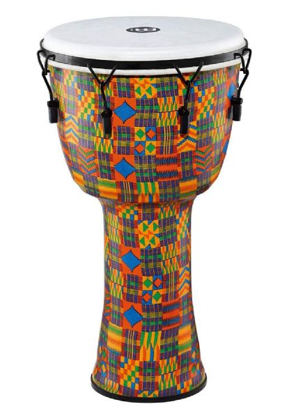 Meinl Percussion 14 inch Travel Series Djembe - Kenyan Quilt - PMDJ2-XL-F
